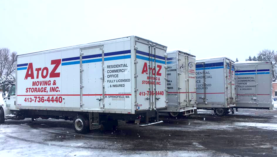 A to Z Moving & Storage, Inc. Trucks
