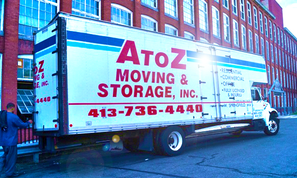 A to Z Moving & Storage, Inc. Truck